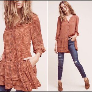 Anthropologie | Holding Horses | X-Small Tunic